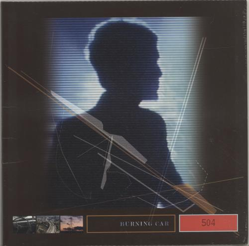 John Foxx Burning Car vinyl LP album (LP record) UK JFXLPBU698215