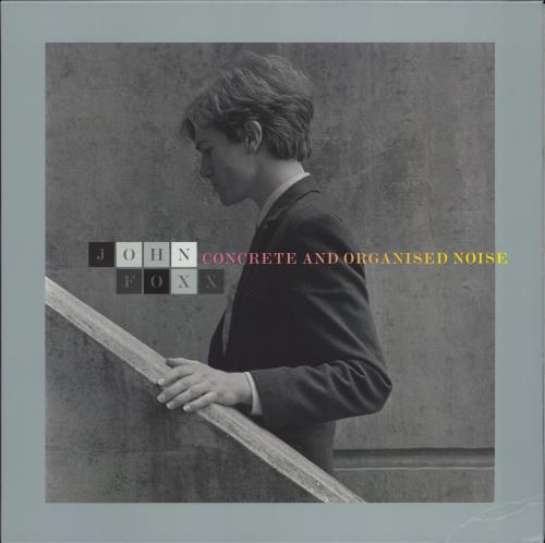 John Foxx Concrete And Organised Noise - Grey vinyl vinyl LP album (LP record) UK JFXLPCO767685