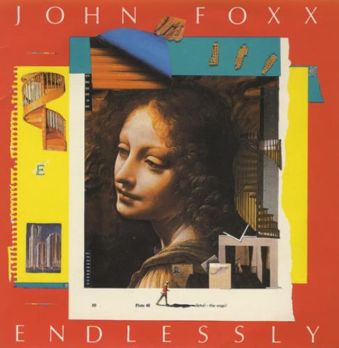 "John Foxx Endlessly 7"" vinyl single (7 inch record) UK JFX07EN172591"