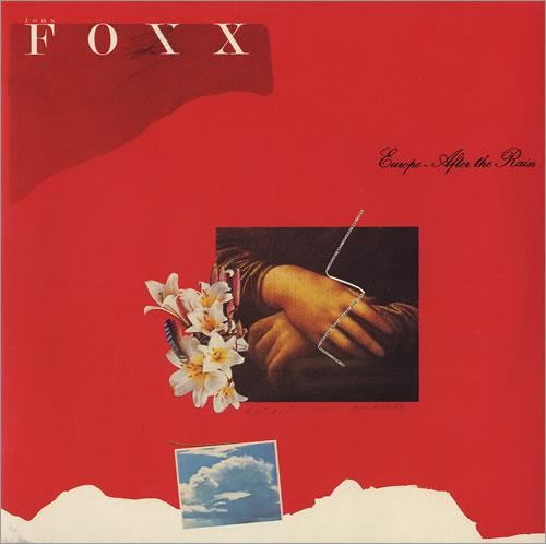 "John Foxx Europe After The Rain 7"" vinyl single (7 inch record) UK JFX07EU16704"