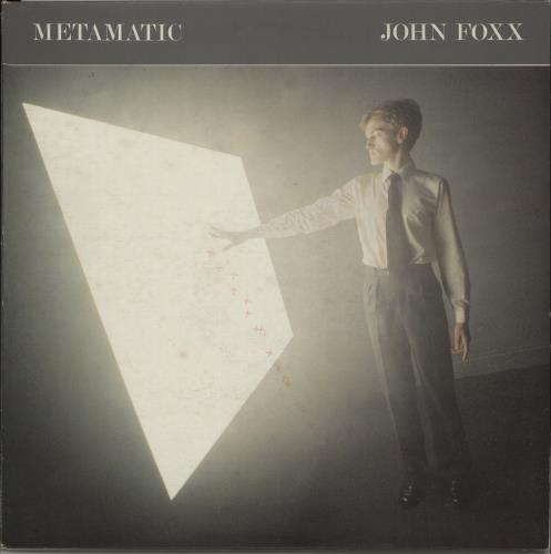 John Foxx Metamatic - EX vinyl LP album (LP record) UK JFXLPME658223