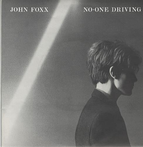 "John Foxx No One Driving - Double Pack 7"" vinyl single (7 inch record) UK JFX07NO13196"