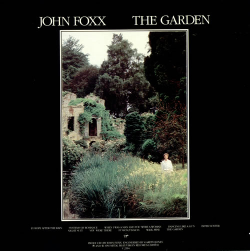 John Foxx The Garden + Church booklet vinyl LP album (LP record) UK JFXLPTH248017