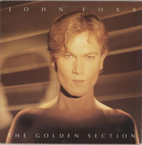 John Foxx The Golden Section - EX vinyl LP album (LP record) UK JFXLPTH674835
