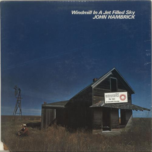 John Hambrick Windmill In A Jet Filled Sky - Sealed vinyl LP album (LP record) US QQRLPWI693668