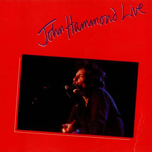 John Hammond John Hammond Live vinyl LP album (LP record) UK JHMLPJO497765