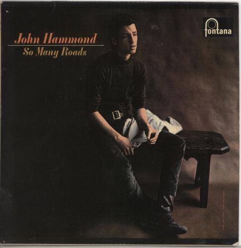 John Hammond So Many Roads vinyl LP album (LP record) UK JHMLPSO692114