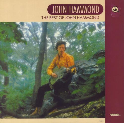 John Hammond The Best Of vinyl LP album (LP record) UK JHMLPTH685546