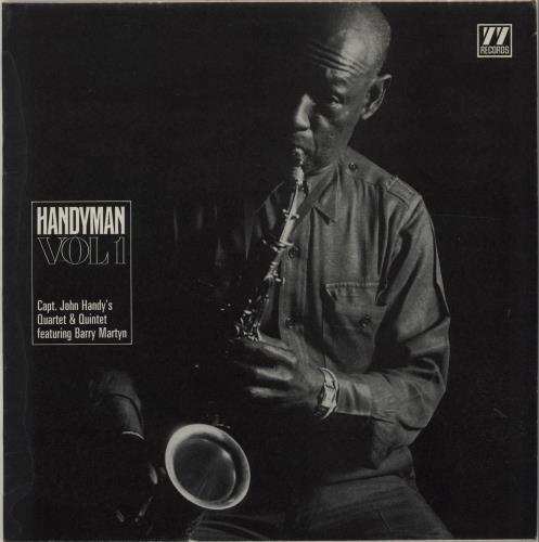John Handy Handyman Volume 1 vinyl LP album (LP record) UK JH6LPHA675887