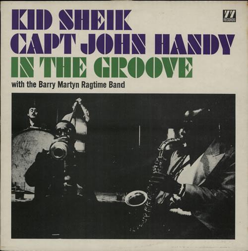 John Handy In The Groove vinyl LP album (LP record) UK JH6LPIN566523