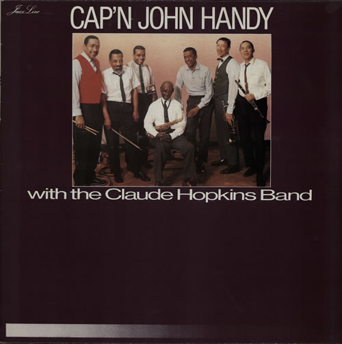 John Handy Introducing Cap'N John Handy vinyl LP album (LP record) French JH6LPIN566521