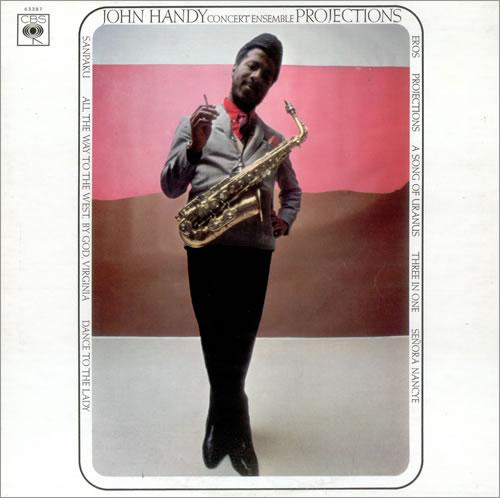 John Handy Projections vinyl LP album (LP record) UK JH6LPPR446454