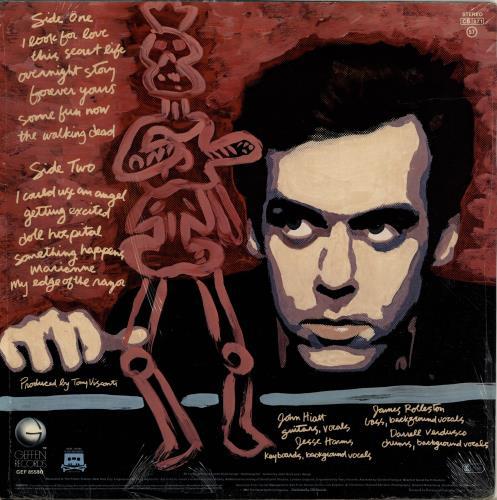 John Hiatt All Of A Sudden vinyl LP album (LP record) US J-HLPAL699076