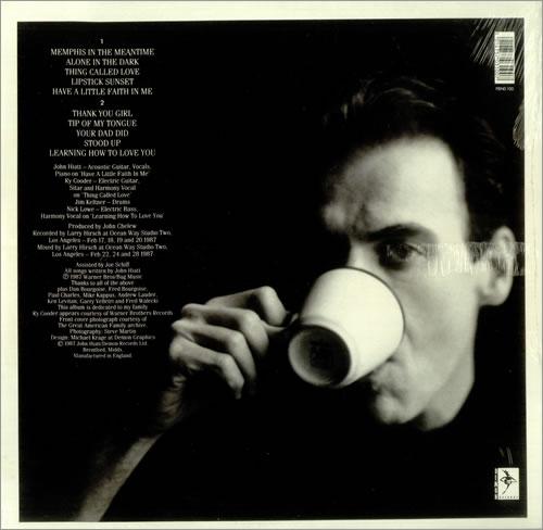 John Hiatt Bring The Family Sealed Uk Vinyl Lp Album Lp