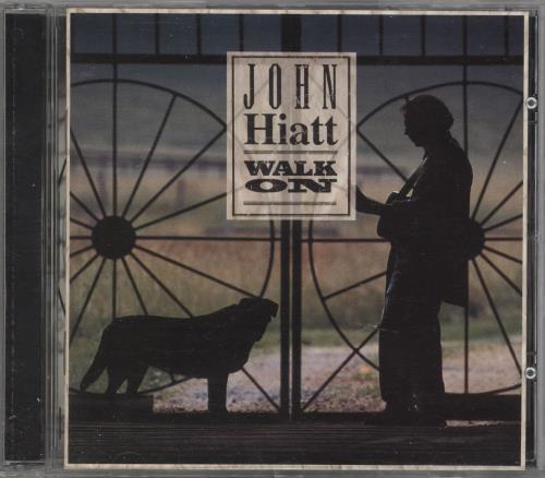 John Hiatt Walk On CD album (CDLP) US J-HCDWA721174