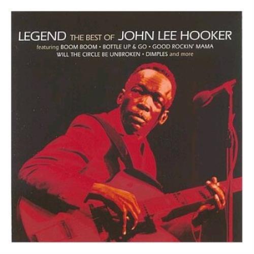 John Lee Hooker Legend - The Best Of John Lee Hooker CD album (CDLP) UK JLHCDLE419308