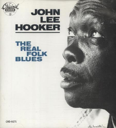 John Lee Hooker The Real Folk Blues CD album (CDLP) US JLHCDTH704265