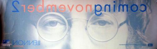 John Lennon Anthology - Coming November 2 display UK LENDIAN620111