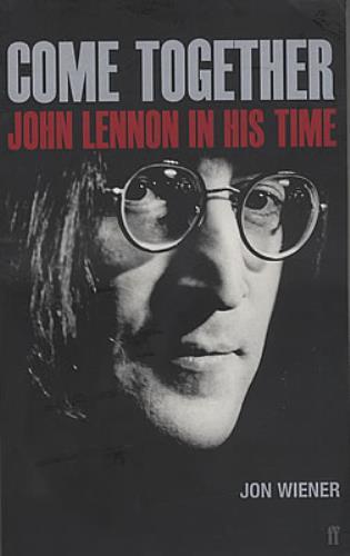John Lennon Come Together - John Lennon In His Time book UK LENBKCO371028