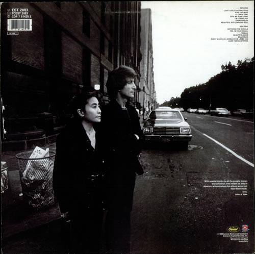 John Lennon Double Fantasy Uk Vinyl Lp Album Lp Record