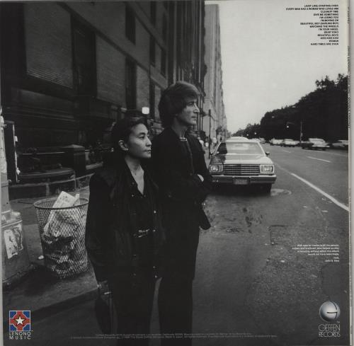 John Lennon Double Fantasy vinyl LP album (LP record) Japanese LENLPDO764808