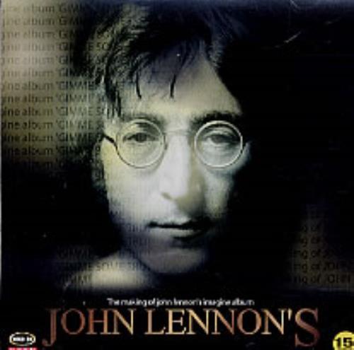 John Lennon Gimme Some Truth Korean Video Cd 232527