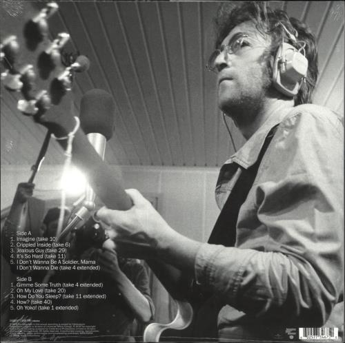 John Lennon Imagine (Raw Studio Mixes) - RSD19 - 180gm Vinyl vinyl LP album (LP record) UK LENLPIM718535