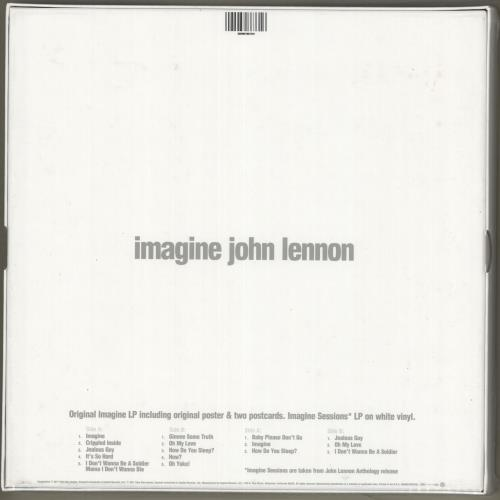 John Lennon Imagine - 40th Anniversary Special Edition - Sealed Vinyl Box Set US LENVXIM717013