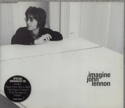 John Lennon Imagine Uk Cd Single Cd5 5 Quot 148609