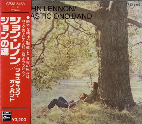 John Lennon John Lennon / Plastic Ono Band CD album (CDLP) Japanese LENCDJO583049