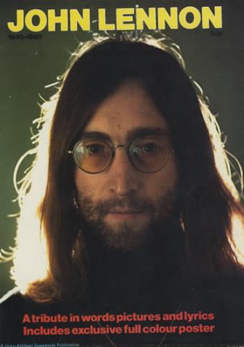 John Lennon John Lennon 1940-1980 magazine UK LENMAJO375663
