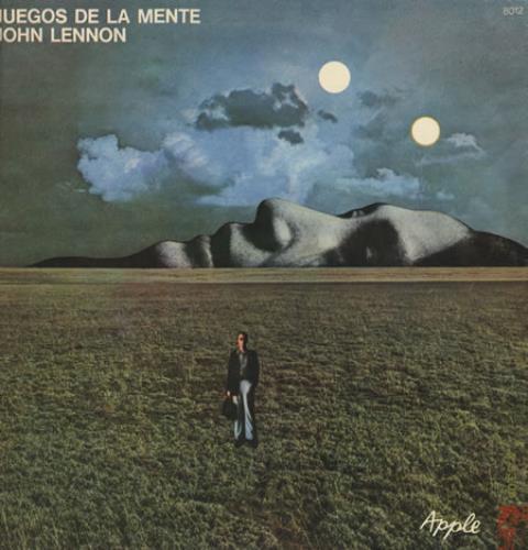 John Lennon Juegos De La Mente - Mind Games vinyl LP album (LP record) Argentinean LENLPJU372265