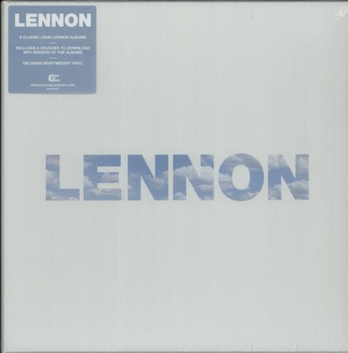John Lennon Lennon - 180 Gram Vinyl - Sealed - Withdrawn Vinyl Box Set UK LENVXLE632532