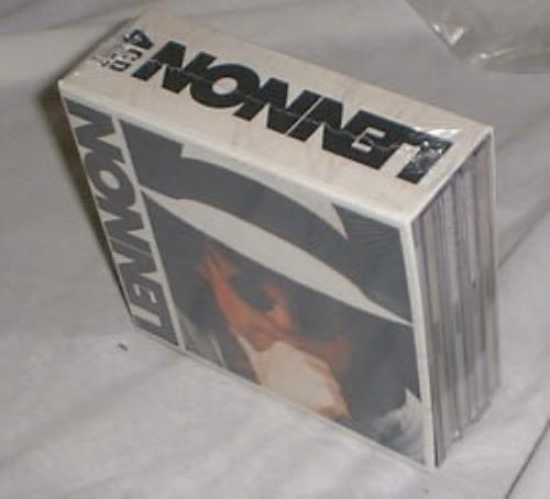 John Lennon Lennon 4 C D Box Set Sealed German Cd
