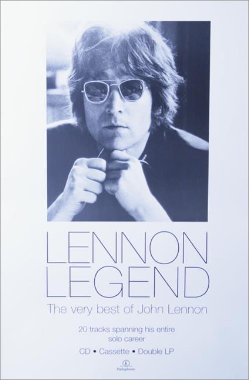 John Lennon Lennon Legend poster UK LENPOLE514101