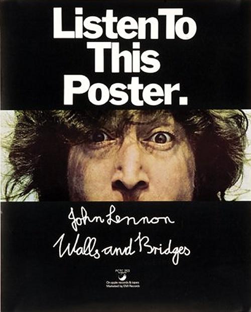 John Lennon Listen To This Poster poster UK LENPOLI612946