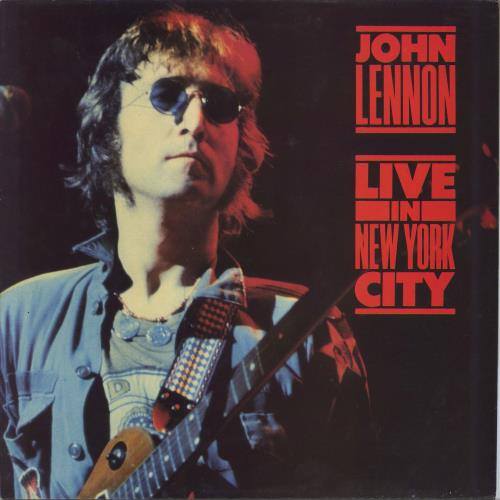 John Lennon Live In New York City vinyl LP album (LP record) UK LENLPLI259243