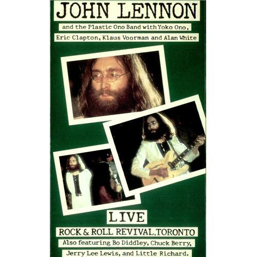 John Lennon Live Rock & Roll Revival, Toronto video (VHS or PAL or NTSC) US LENVILI424913