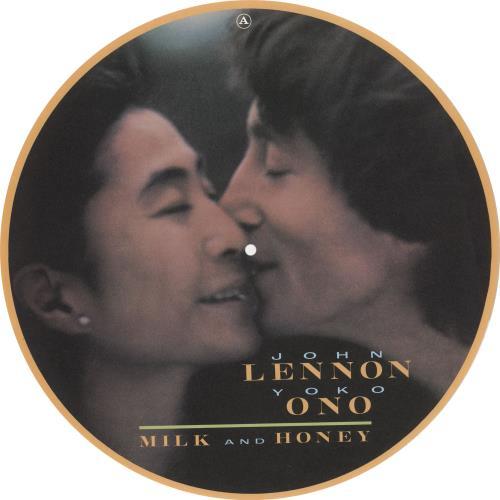 John Lennon Milk And Honey artwork UK LENARMI739052