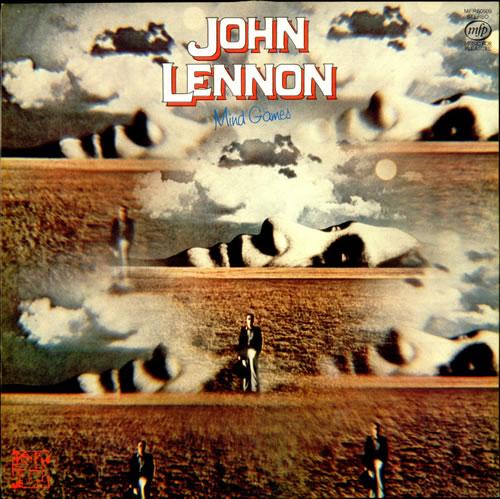 John Lennon Mind Games Ex Uk Vinyl Lp Album Lp Record 294411