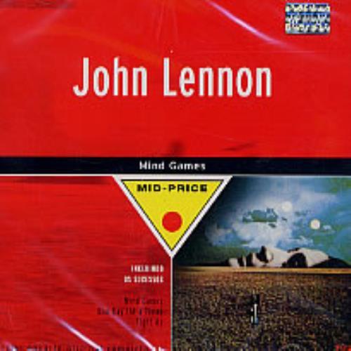 John Lennon Mind Games Brazilian Cd Album Cdlp 232016