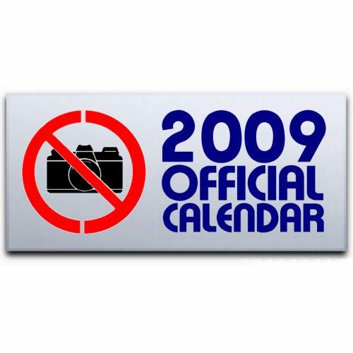 John Lennon Official Calendar 2009 calendar UK LENCAOF430895
