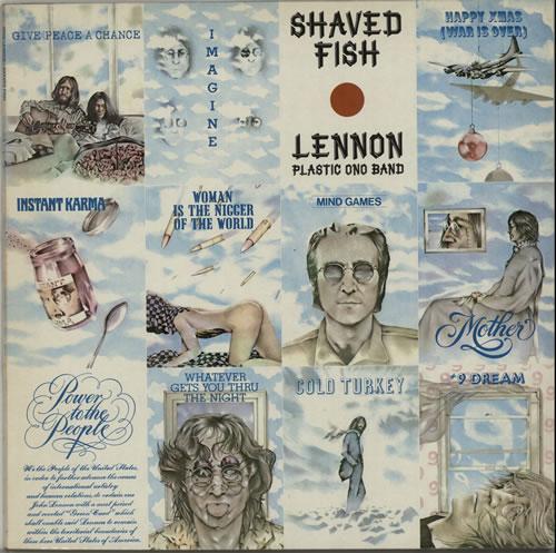 John Lennon Shaved Fish vinyl LP album (LP record) Dutch LENLPSH626488