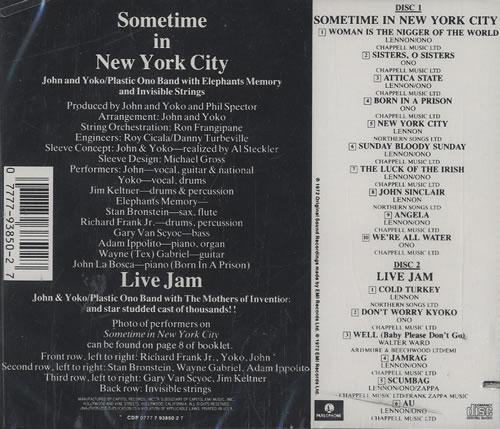 John Lennon Sometime In New York City US 2 CD album set (Double CD) (289972)