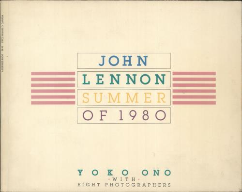 John Lennon Summer Of 1980 book US LENBKSU593314