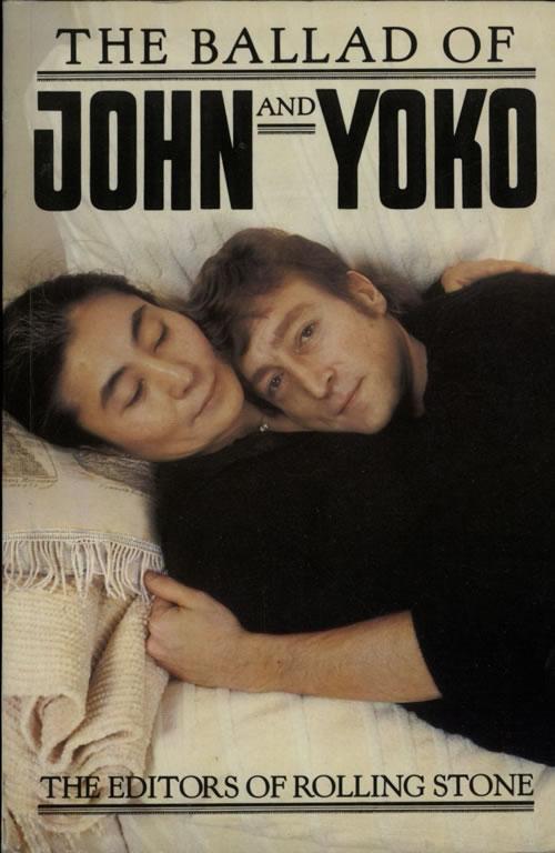 John Lennon The Ballad Of John And Yoko - 1st book UK LENBKTH369974