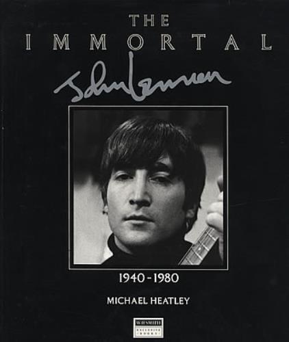 John Lennon The Immortal John Lennon book UK LENBKTH205552