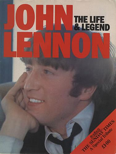John Lennon The Life & Legend magazine UK LENMATH400773