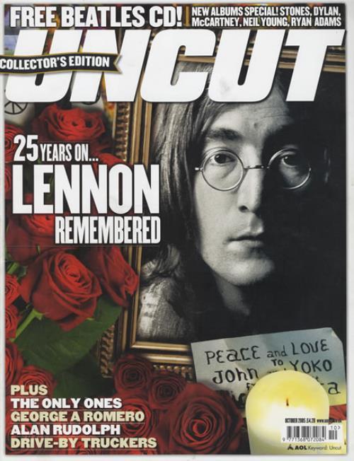 John Lennon Uncut - October 2005 magazine UK LENMAUN426506
