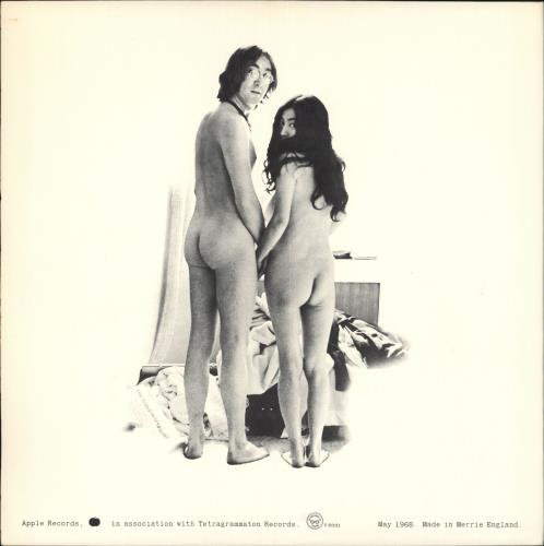John Lennon Unfinished Music No. 1: Two Virgins + Outer vinyl LP album (LP record) US LENLPUN229209